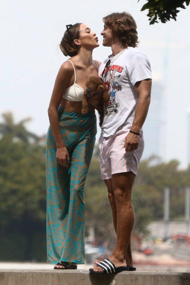 Sophia Culpo - Photoshoot in Miami Beach