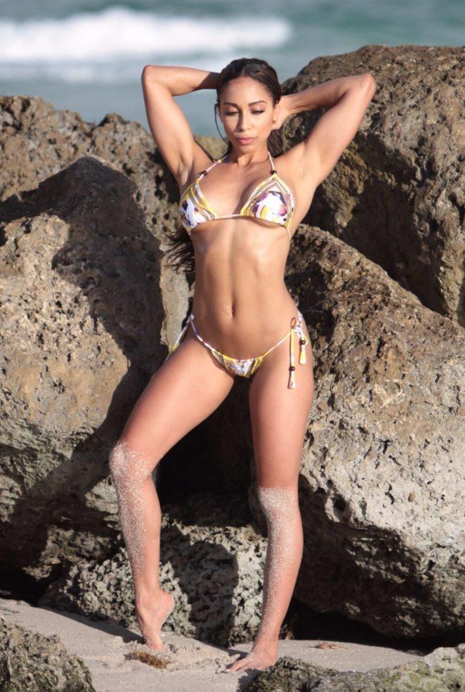 Sophia Leger Valere Bikini Photoshoot on the beach in Miami