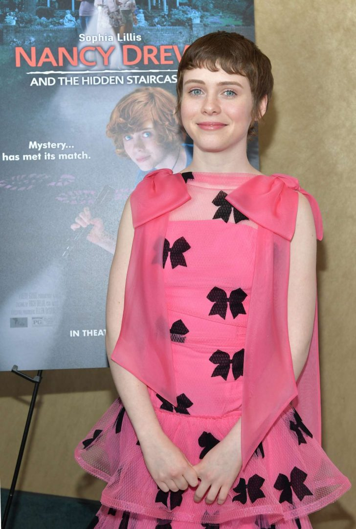Sophia Lillis - 'Nancy Drew and the Hidden Staircase' Premiere in Century City