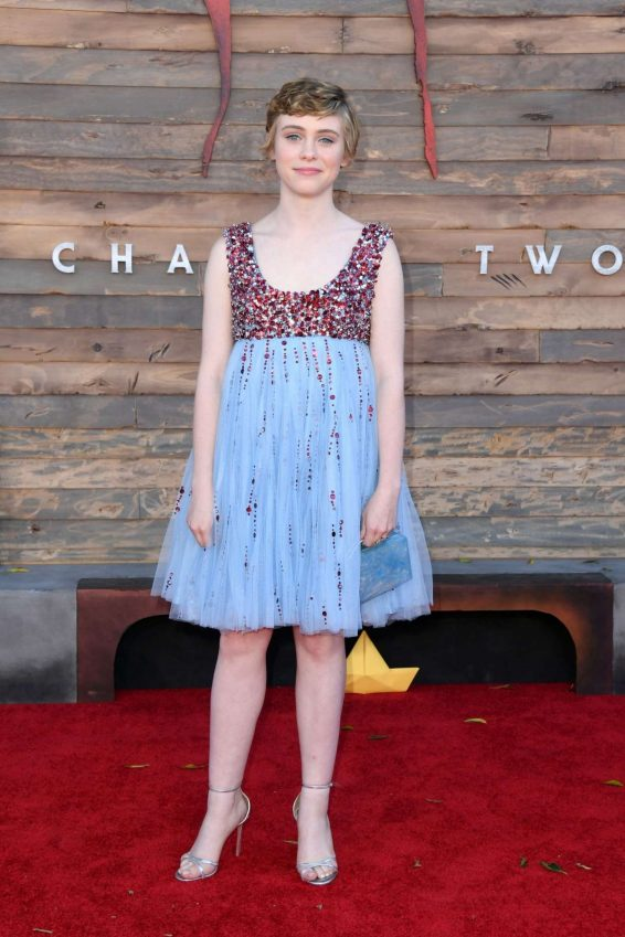 Sophia Lillis - Premiere of 'It Chapter Two' at Regency Village Theatre