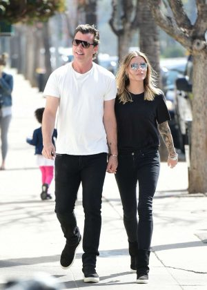 Sophia Thomalla and Gavin Rossdale - Out in Los Angeles
