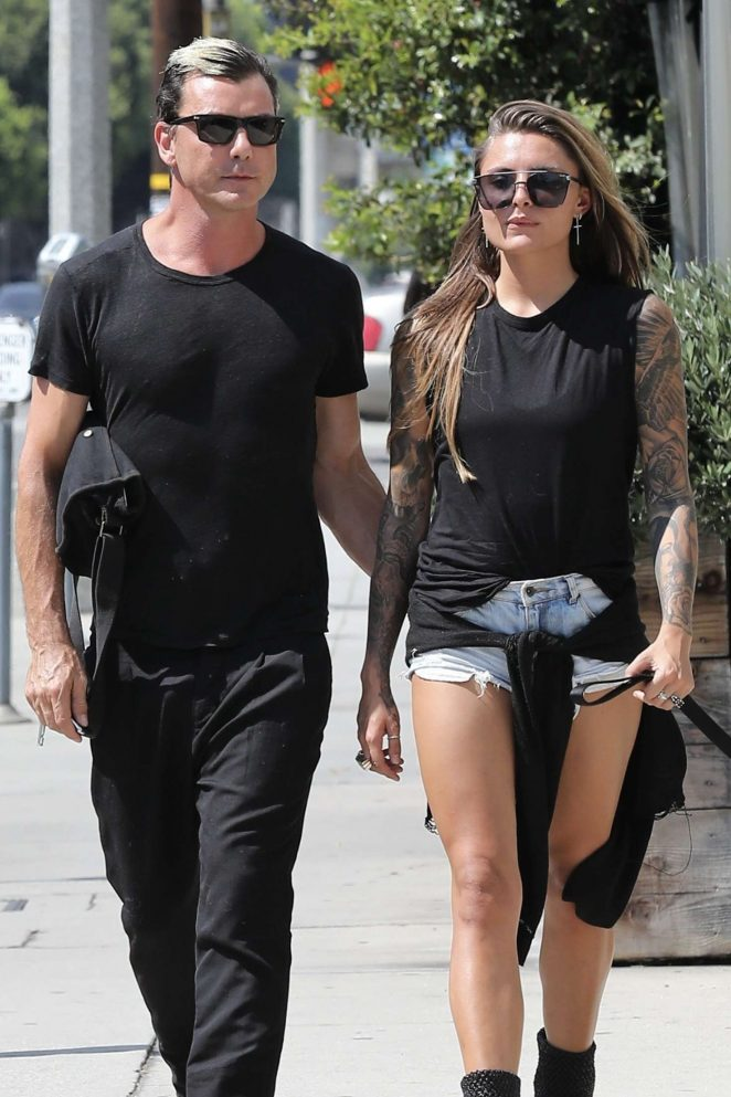 Sophia Thomalla and Gavin Rossdale out in West Hollywood