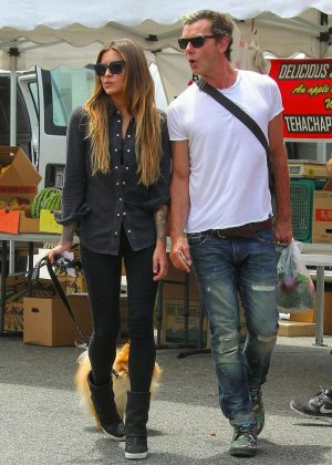 Sophia Thomalla and Gavin Rossdale Shopping in Studio City