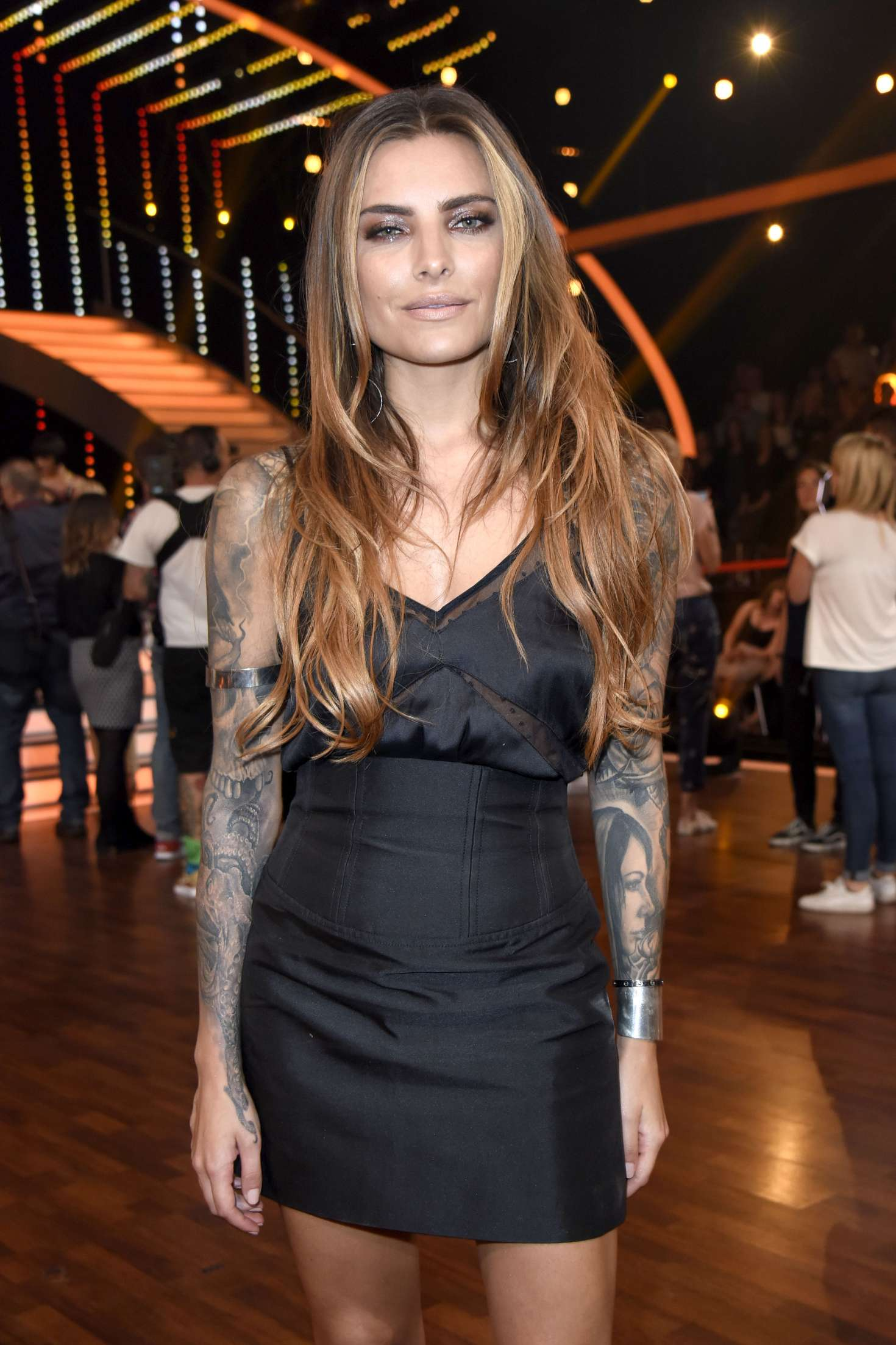 Sophia thomalla rtl live tv show lets dance in cologne
