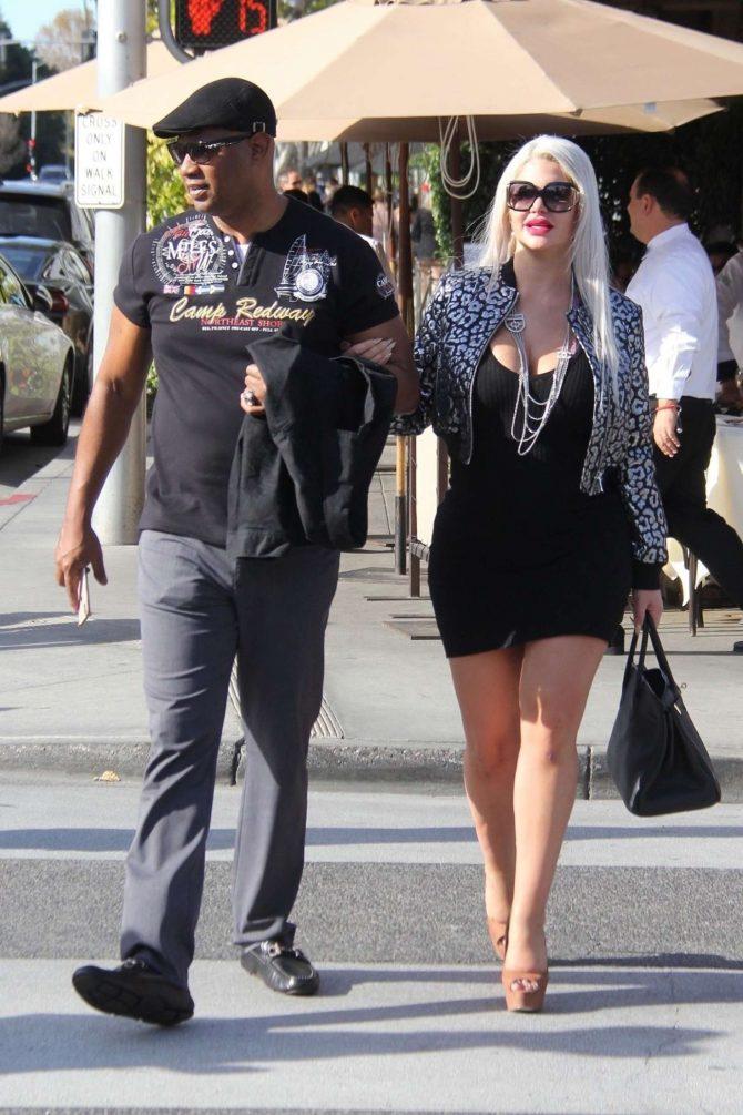 Sophia Vegas and Dan Charlier out in Los Angeles