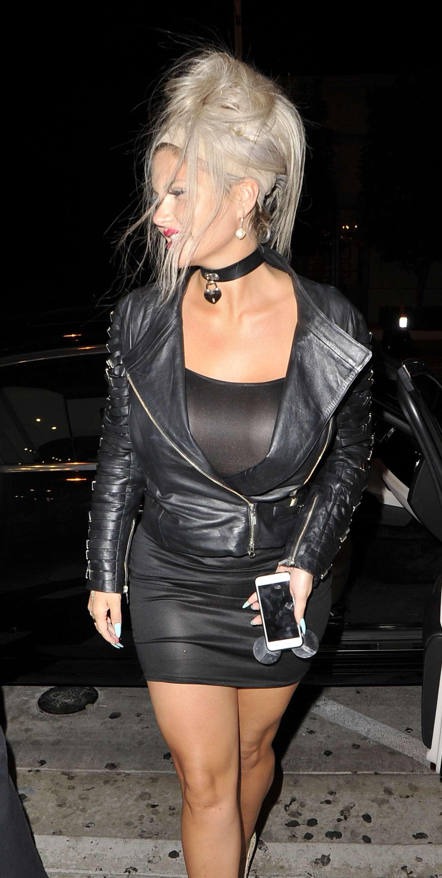 Sophia Vegas Wollersheim – Arrives at Catch LA Restaurant ...