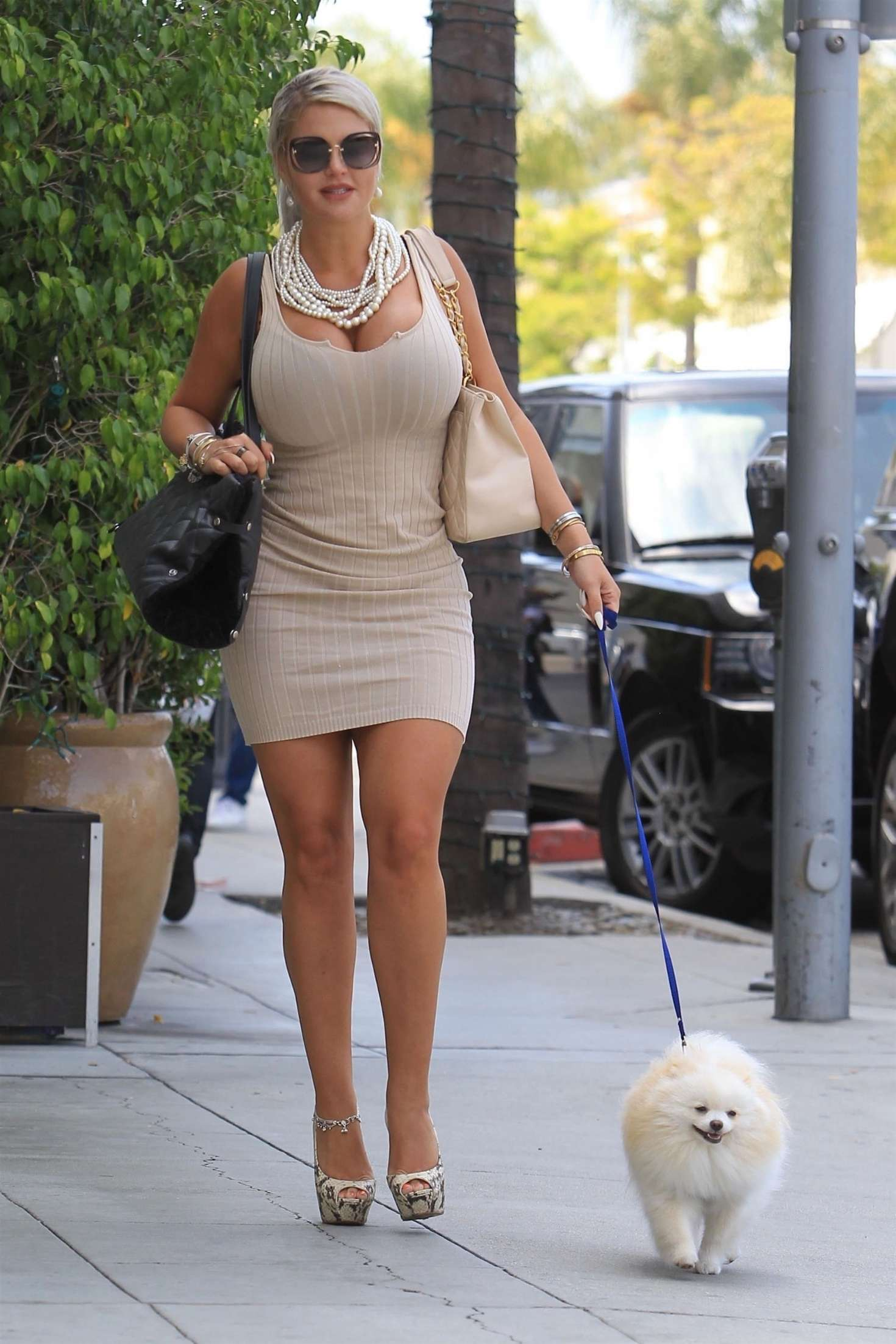 Sophia Vegas Wollersheim - Heading to lunch in Beverly Hills