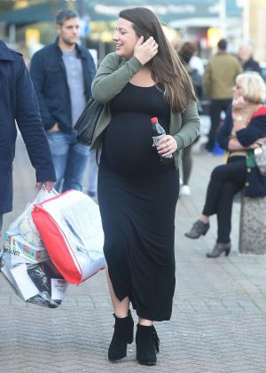 Sophie Austin - Shopping at The Baby Show in London