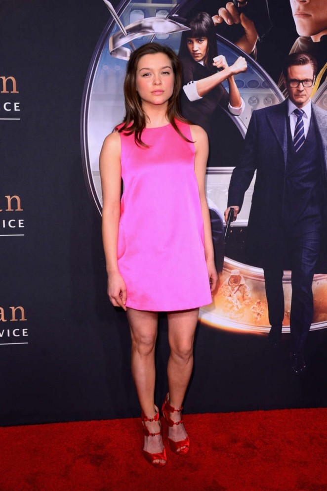 "Sophie Cookson - ""Kingsman: The Secret Service"" Premiere in NYC"
