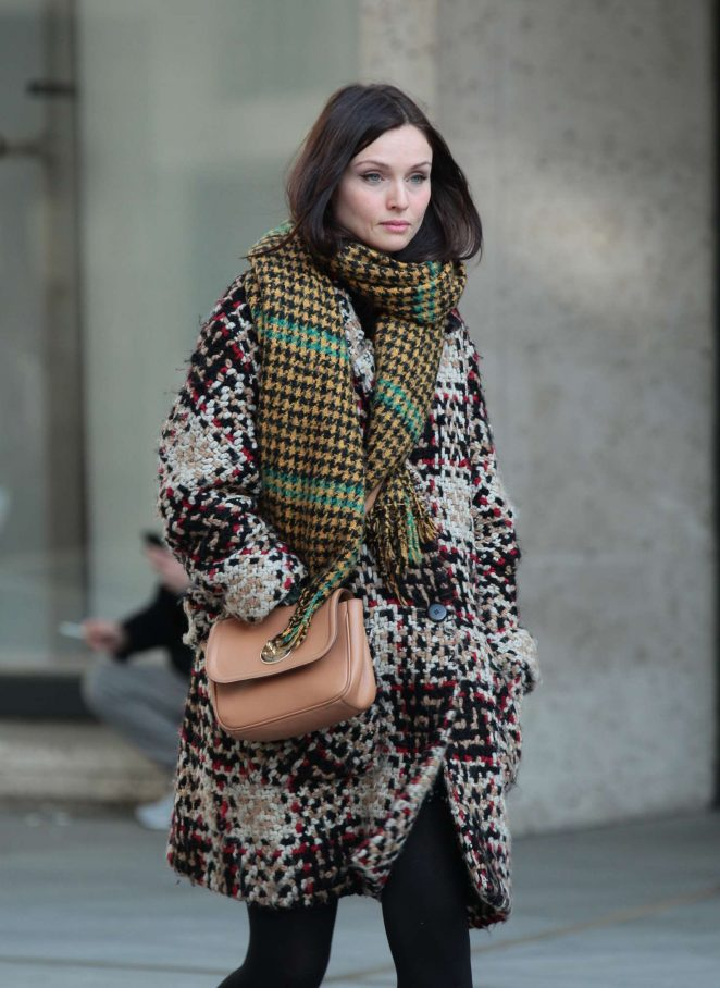 Sophie Ellis Bextor at the BBC Studios in London