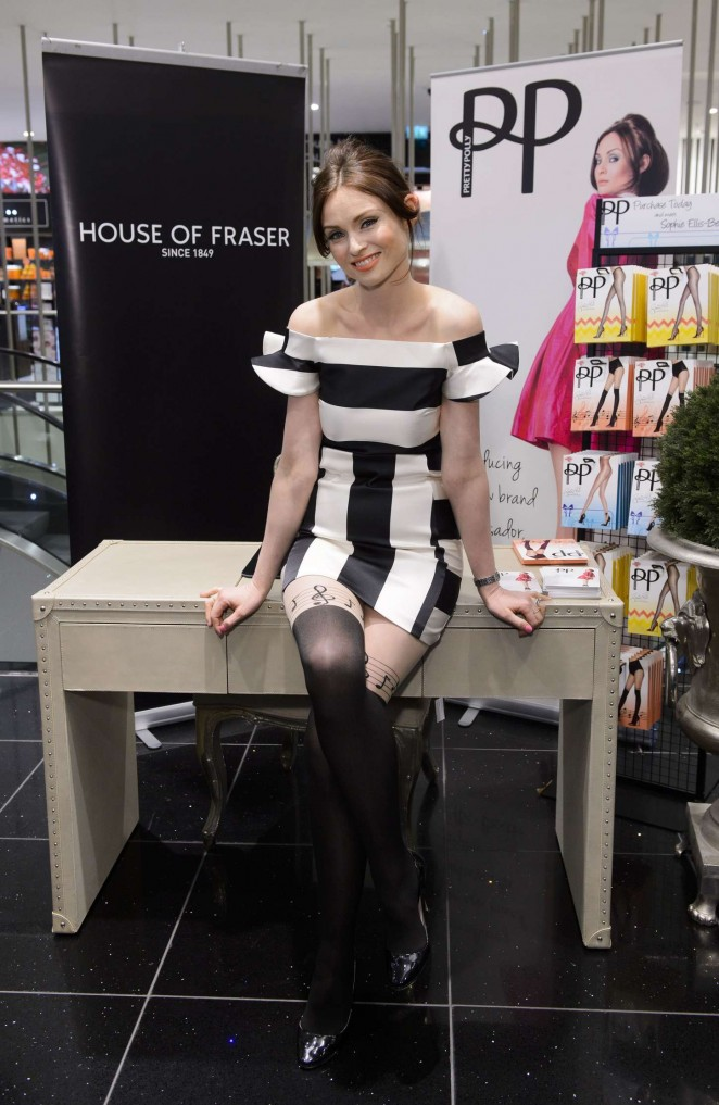 Sophie Ellis Bextor - Pretty Polly Event in London