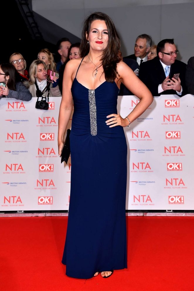 Sophie Faldo - National Television Awards 2018 in London