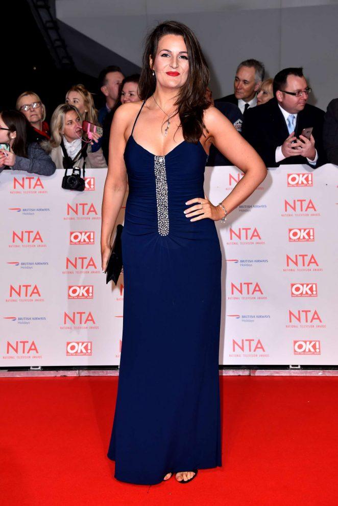 Sophie Faldo - National Television Awards 2018 in London