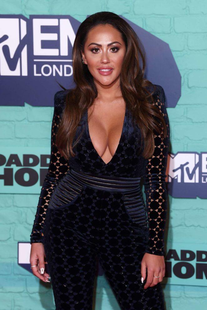 Sophie Kasaei - 2017 MTV Europe Music Awards in London
