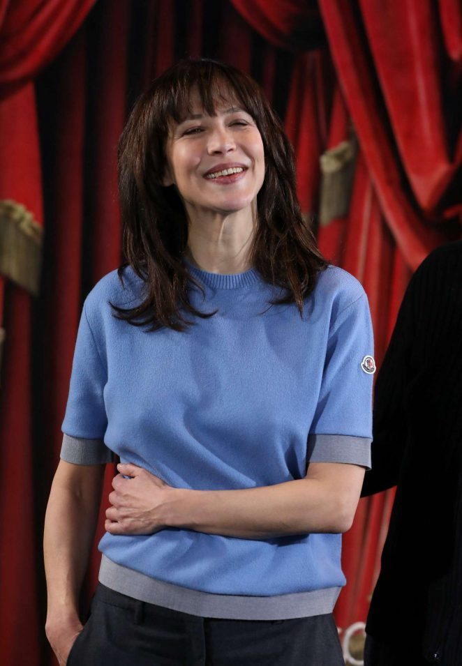 Sophie Marceau at 21th international comedy FF in Alpe d'Huez