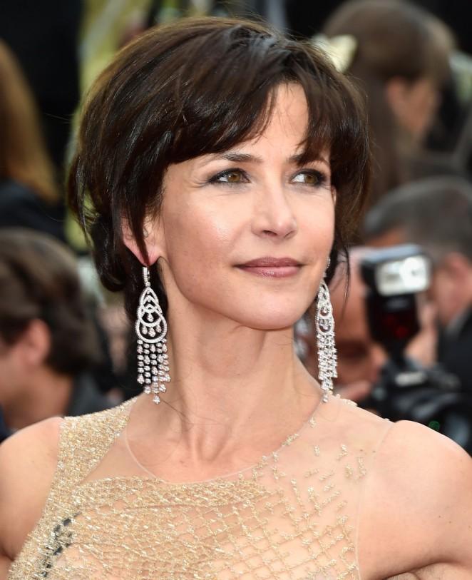 Sophie Marceau - Closing Ceremony and 'Le Glace Et Le Ciel' Premiere in Cannes