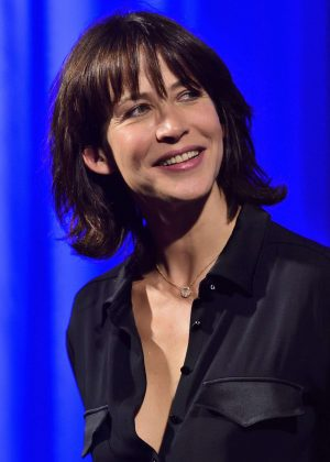 Sophie Marceau - Golden Lion For Jean Paul Belmond at 73rd Venice Film Festival in Italy