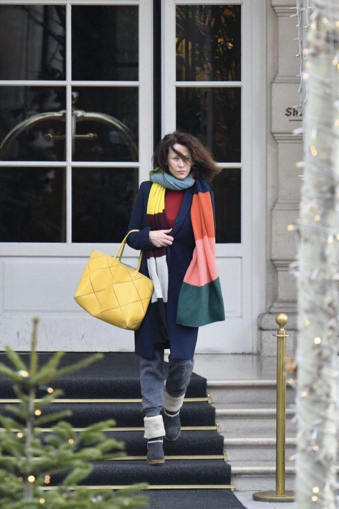 Sophie Marceau: Leaves the Shangri-La Hotel -07