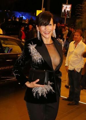 Sophie Marceau - Leaving the Marriott Hotel in Cannes