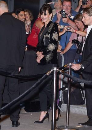 Sophie Marceau: Leaving the Marriott Hotel -10