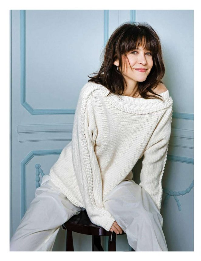 Sophie Marceau – Madame Figaro Magazine (February 2018)