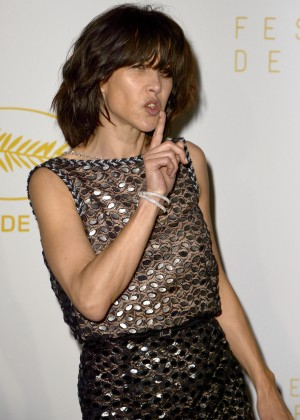 Sophie Marceau - Opening Ceremony Dinner at 2015 Cannes Film Festival in France