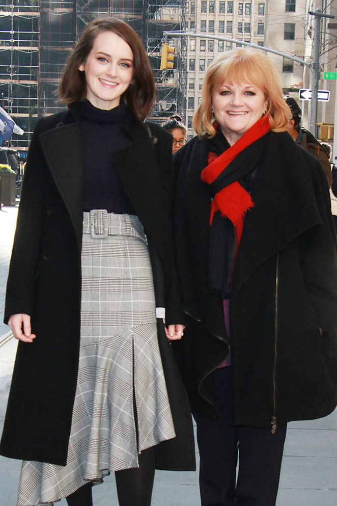 Sophie McSheera and Lesley Nicol at New York Live in NYC