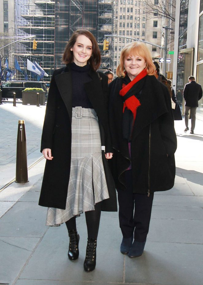 Sophie McSheera and Lesley Nicol at New York Live -04
