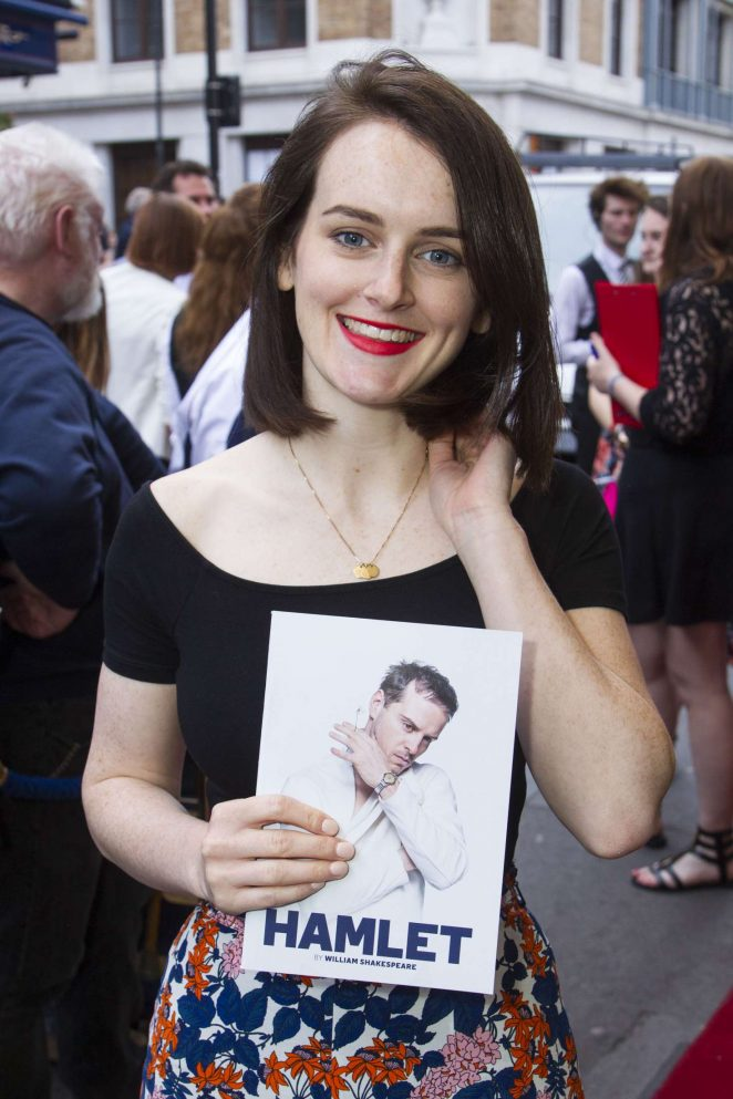 Sophie McShera - 'Hamlet' Play in London