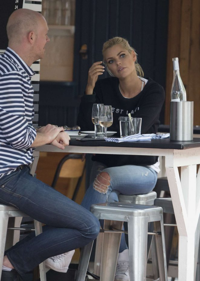 Sophie Monk in Jeans out in Sydney -06