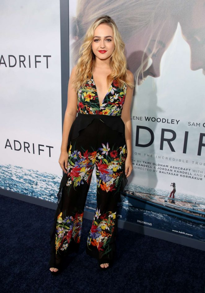 Sophie Reynolds - 'Adrift' Premiere in Los Angeles