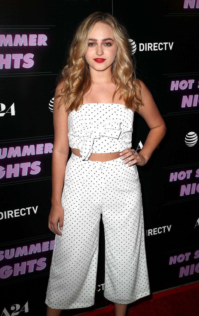 Sophie Reynolds – 'Hot Summer Nights' Screening in Los Angeles