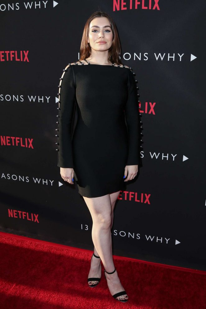 Sophie Simmons – '13 Reasons Why' TV Series Premiere in Los Angeles