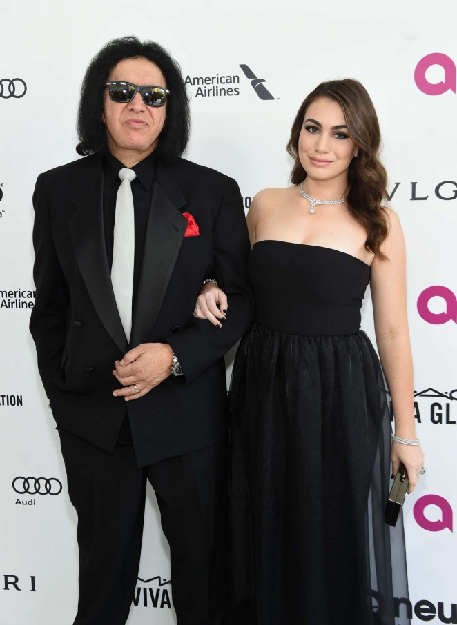 Sophie Simmons - 2016 Elton John AIDS Foundation's Oscar Viewing Party in West Hollywood