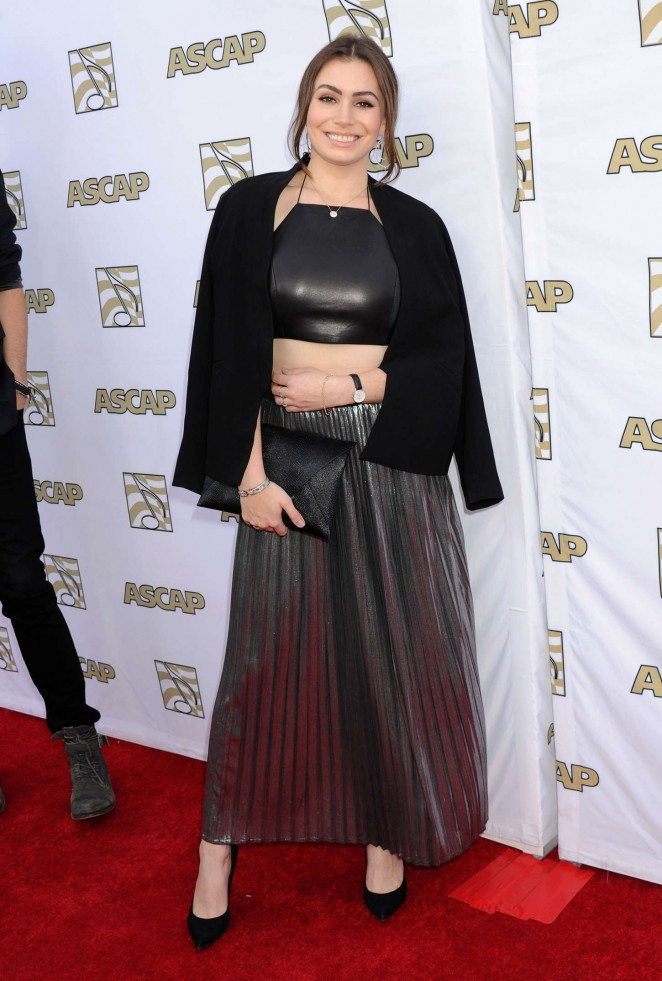 Sophie Simmons - 2015 ASCAP Pop Music Awards in Hollywood