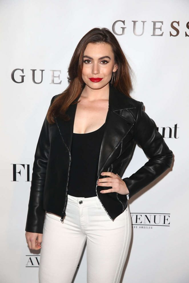 Sophie Simmons - Flaunt And Guess Celebrate The Alternative Facts Issue Event in LA