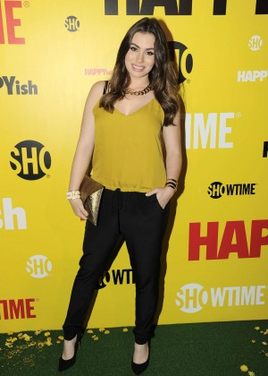 Sophie Simmons - 'HAPPYish' Series Premiere in NYC