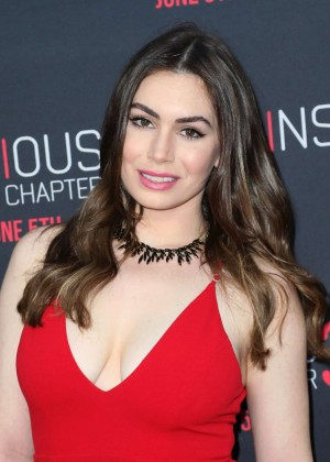 Sophie Simmons - 'Insidious: Chapter 3' Premiere in Hollywood
