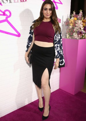 Sophie Simmons - JustFab Ready-To-Wear Launch Party in West Hollywood