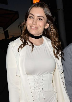 Sophie Simmons - Leave a Party in Hollywood
