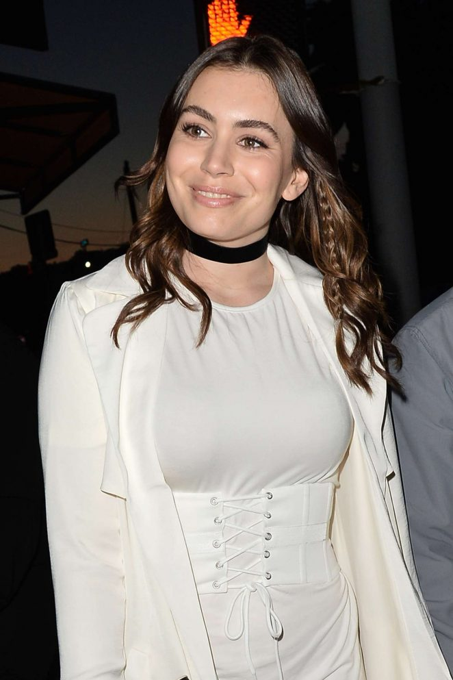 Sophie Simmons – Leave a Party in Hollywood