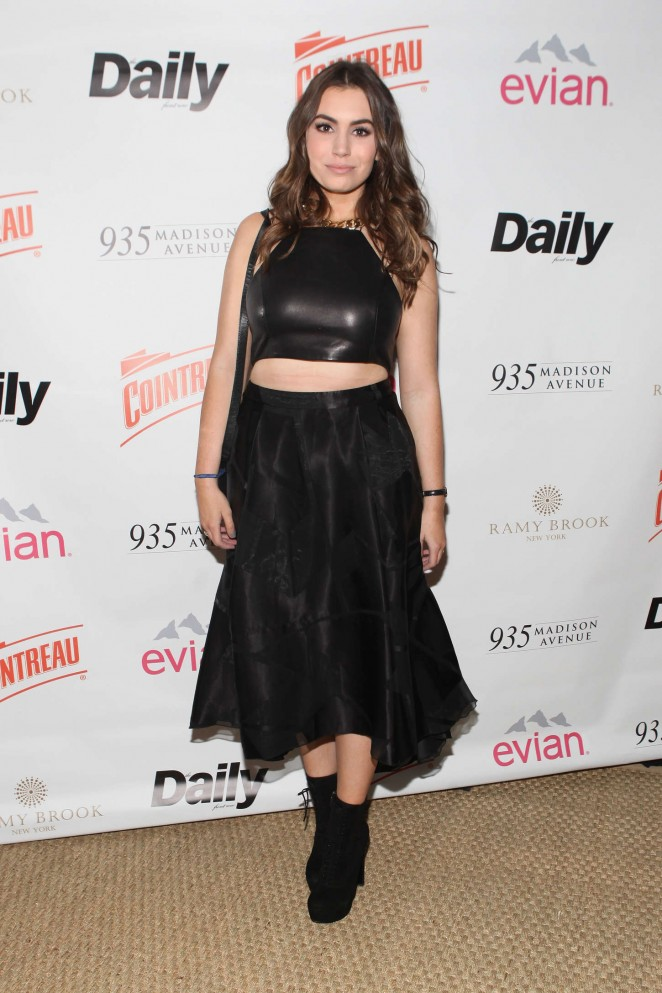 Sophie Simmons - The Daily Front Row's 2015 Model Issue Reception in NYC
