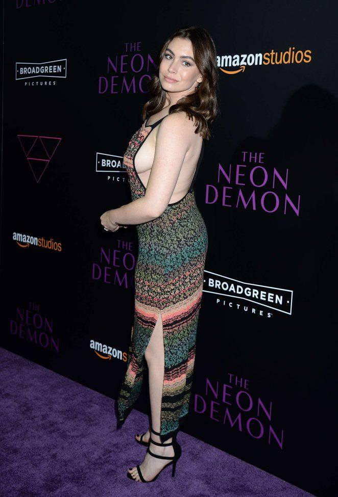 Sophie SImmons: The Neon Demon LA Premiere -02