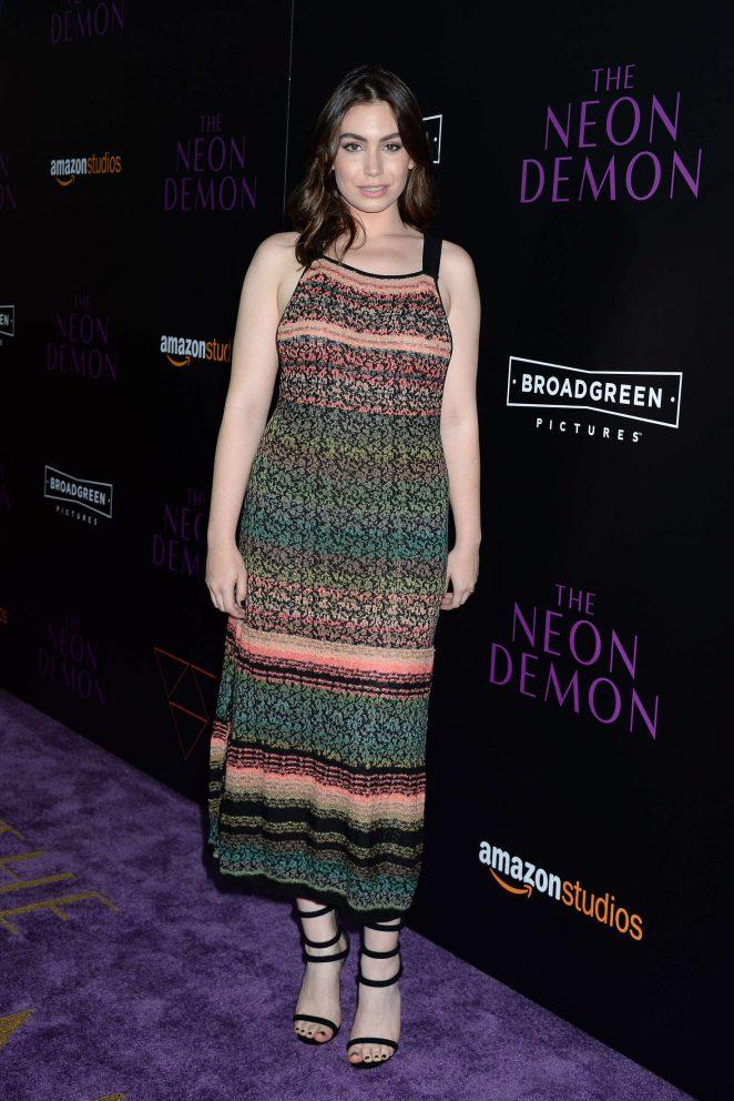 Sophie SImmons: The Neon Demon LA Premiere -05