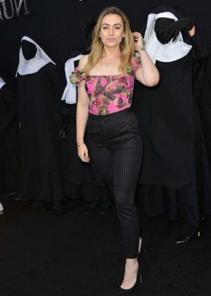 Sophie Simmons - 'The Nun' Premiere in Los Angeles