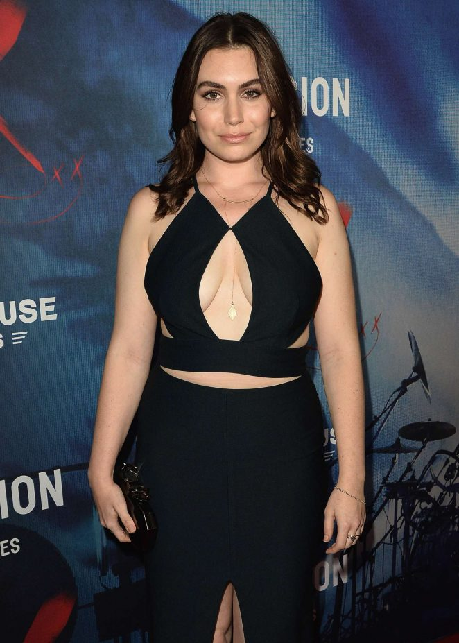 Sophie Simmons - 'We Are X' Premiere in Hollywood
