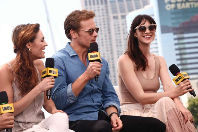 Sophie Skelton and Caitriona Balfe - IMDboat At San Diego Comic-Con 2017