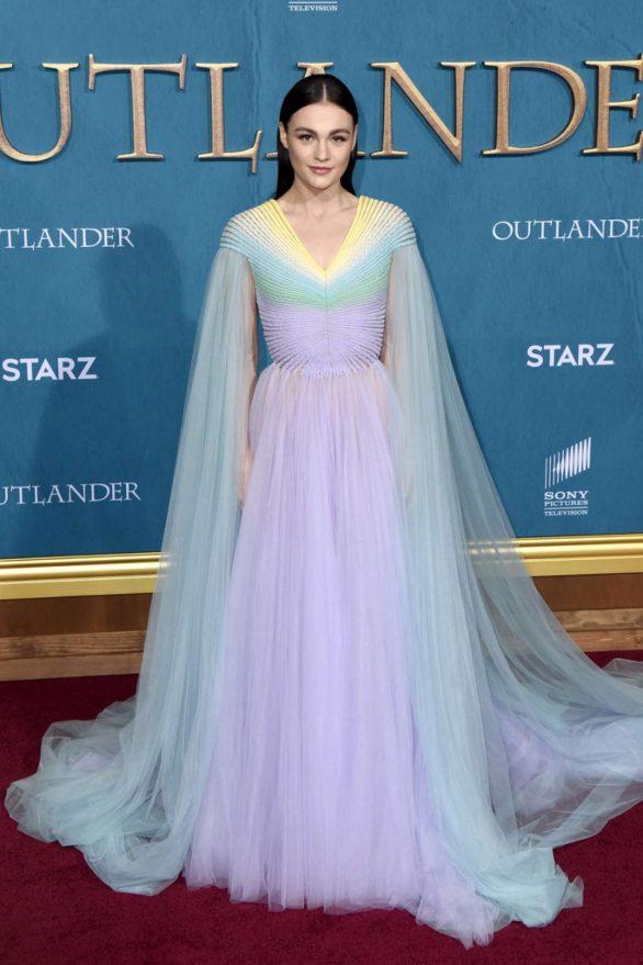 Sophie Skelton - Starz Premiere event for 'Outlander' Season 5 in Los Angeles