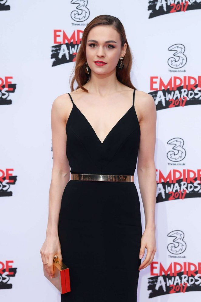 Sophie Skelton - Three Empire Awards 2017 in London