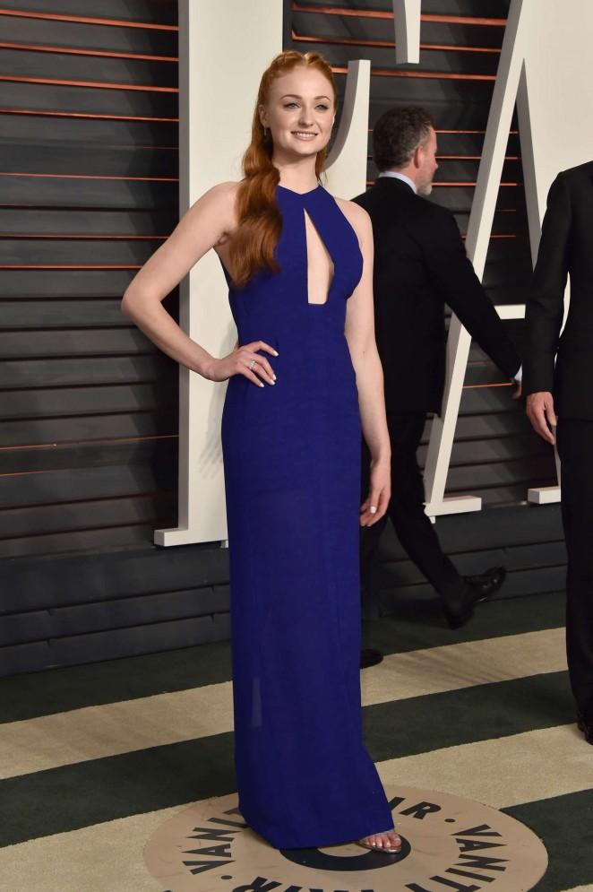 Sophie Turner – 2016 Vanity Fair Oscar Party in Beverly Hills